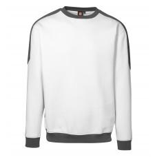 ID Pro wear herre/unisex sweatshirt med kontrast