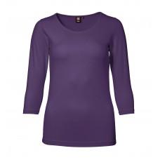ID Stretch dame T-shirt med 3/4 ærmer