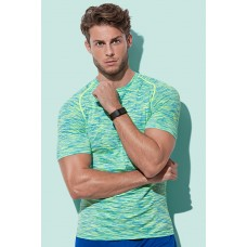 Stedman herre active 2 farvet trænings t-shirt