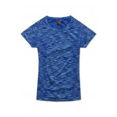 Stedman dame active 2- farvet trænings t-shirt